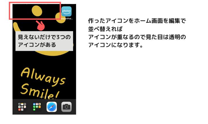 iPhone画面カスタマイズ